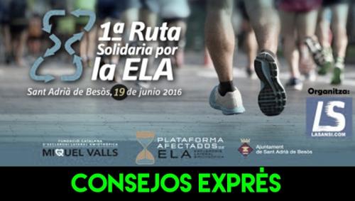 CONSEJOS EXPRES CURSA ELA SANT ADRIA