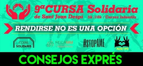 CONSEJOS EXPRES CURSA SOLIDARIA SANT JOAN DESPI