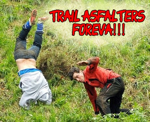Trail running asfaltero