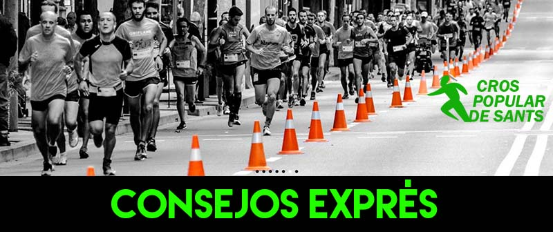 CONSEJOS EXPRES cros sants RECORRIDO