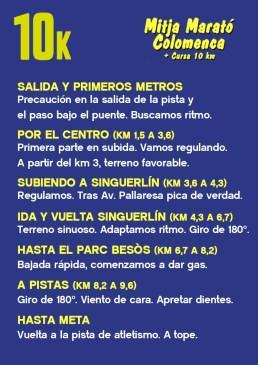 La Chuleta COLOMENCA 10k