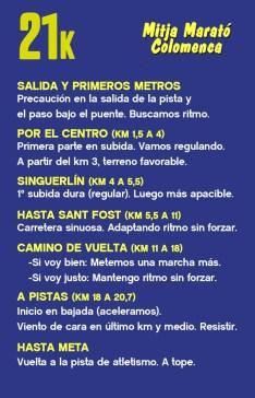La Chuleta COLOMENCA 21k