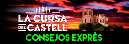 RECORRIDO CONSEJOS EXPRES CURSA CASTELL