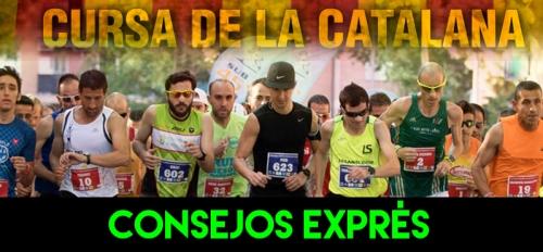 RECORRIDO CONSEJOS EXPRES CURSA LA CATALANA
