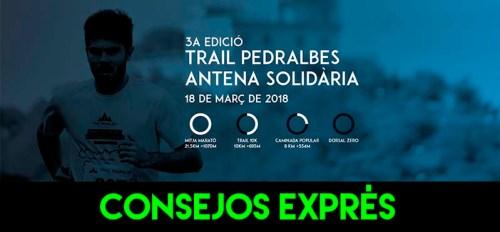 RECORRIDO CONSEJOS EXPRES PEDRALBES ANTENA SOLIDARIA