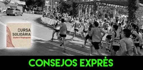 CONSEJOS EXPRES CURSA ESPLUGUES RECORRIDO