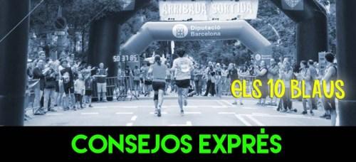 CONSEJOS EXPRES ELS 10 BLAUS RECORRIDO