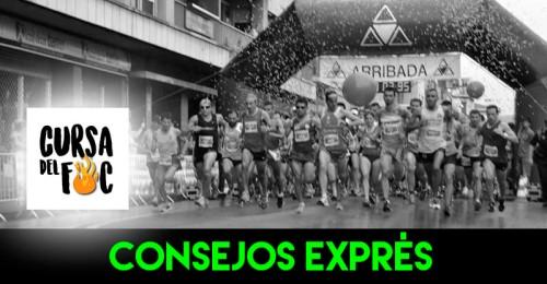 RECORRIDO CONSEJOS EXPRES CURSA DEL FOC