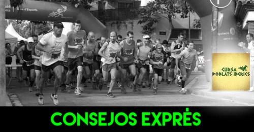 RECORRIDO CONSEJOS EXPRES CURSA POBLATS IBERICS