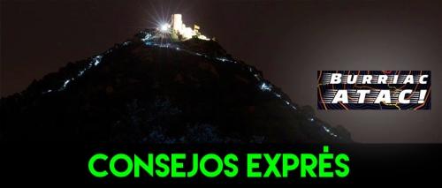 RECORRIDO CONSEJOS EXPRES BURRIAC ATTAC