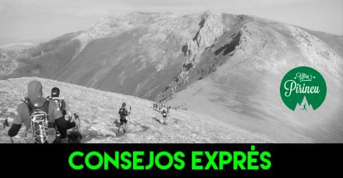 RECORRIDO CONSEJOS EXPRES ULTRA PIRINEU