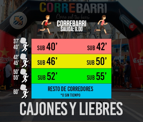 CALAIXOS LLEBRES CORREBARRI