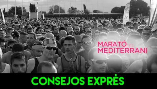 RECORRIDO CONSEJOS MARATO MEDITERRANI