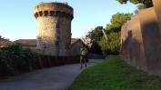 Pujada al Castell Castelldefels (2)
