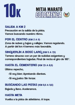 La Chuleta COLOMENCA 10k 2020