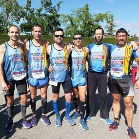 BLAUPETEN RUNNING TEAM FOTO